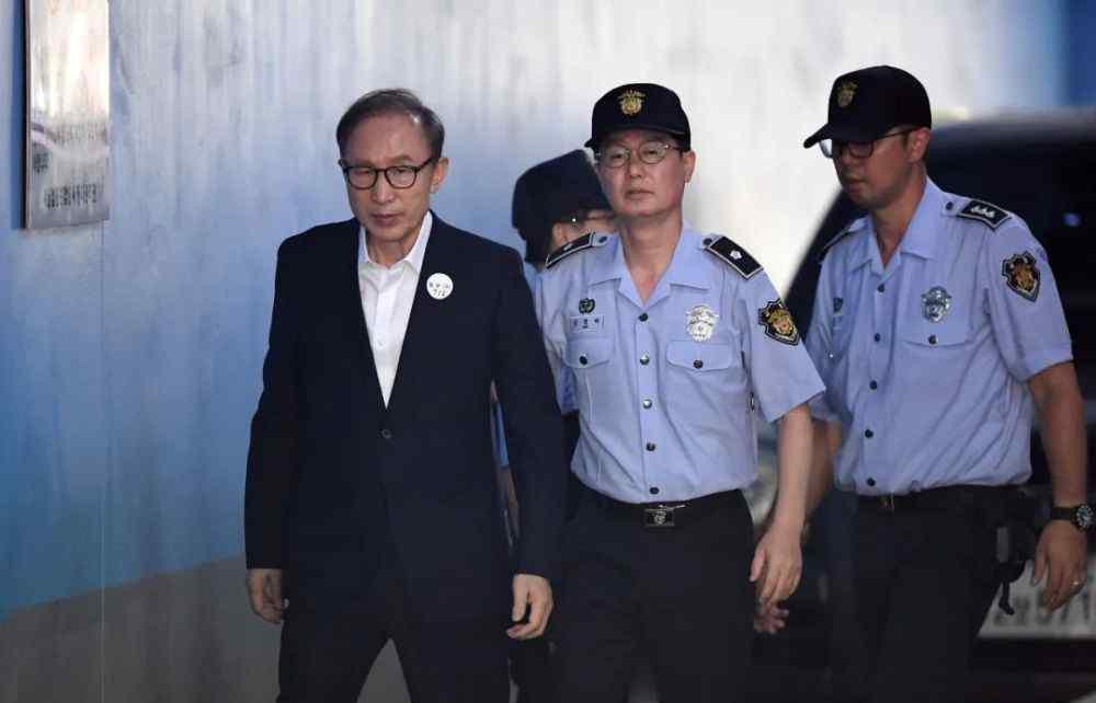定谳 李明博判囚终定谳 韩国总统悲剧命运未变