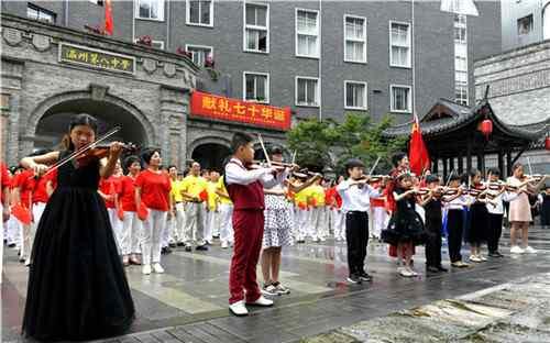 温州男人医院俱佳五马 一场震撼快闪,燃爆五马禅街!